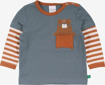 Fred's World by GREEN COTTON Shirt 'Bear' in Blue