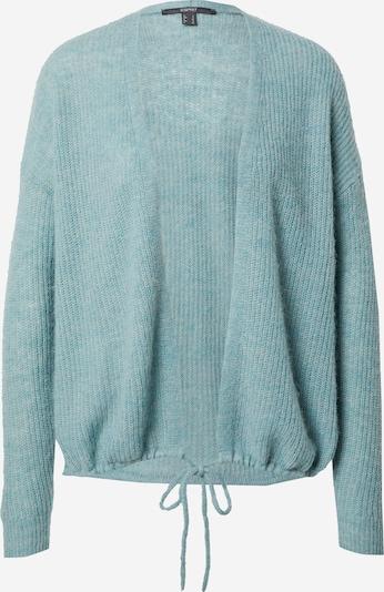 Esprit Collection Cardigan en turquoise, Vue avec produit