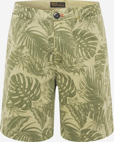 REPLAY Shorts in oliv / hellgrün, Produktansicht