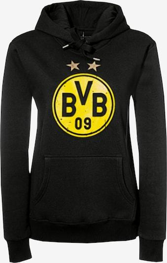 Borussia Dortmund Sweatshirt in gelb / schwarz, Produktansicht