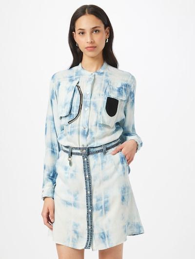 DIESEL Košilové šaty 'NOEMI' - modrá / azurová, Model/ka