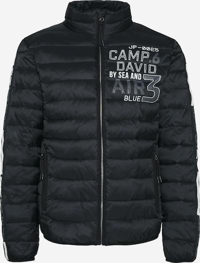 CAMP DAVID Steppjacke in schwarz, Produktansicht
