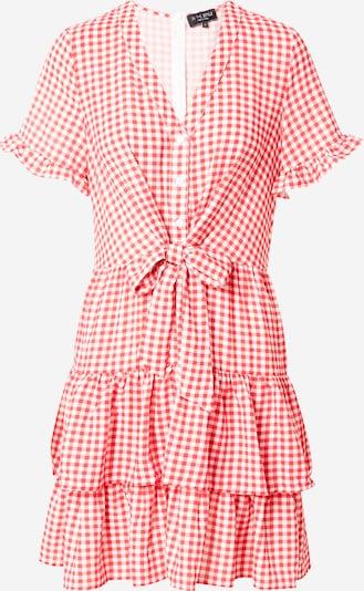 In The Style Φόρεμα 'JOSSA' σε κόκκινο / λευκό, Άποψη προϊόντος