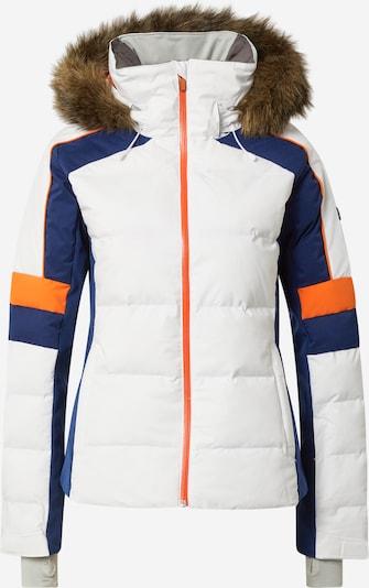 ROXY Outdoorjas 'SNOW BLIZZARD' in de kleur Blauw / Sinaasappel / Wit, Productweergave