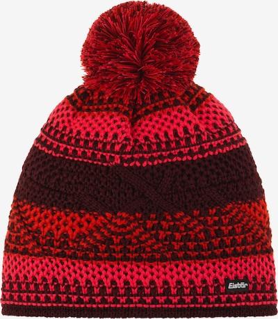 Eisbär Mütze in rot / dunkelrot, Produktansicht