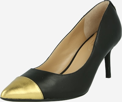 Lauren Ralph Lauren Zapatos con plataforma 'LANETTE' en oro / negro, Vista del producto