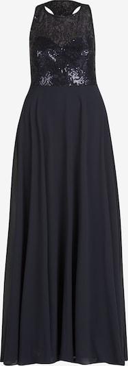 Vera Mont Abendkleid mit Pailletten in dunkelblau, Produktansicht