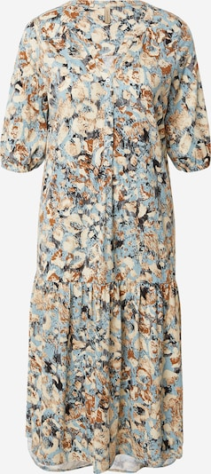 Soyaconcept Kleid 'FELICITY' in beige / hellblau / schwarz, Produktansicht