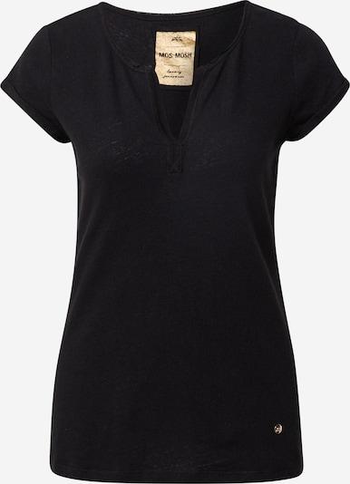 Tricou 'Troy' MOS MOSH pe negru, Vizualizare produs