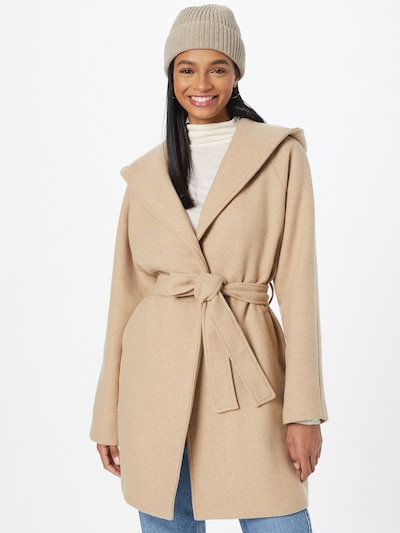 ABOUT YOU Between-Seasons Coat 'Noelle' in Beige, View model