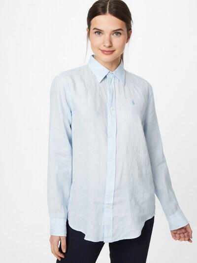 POLO RALPH LAUREN Blusa en azul claro, Vista del modelo