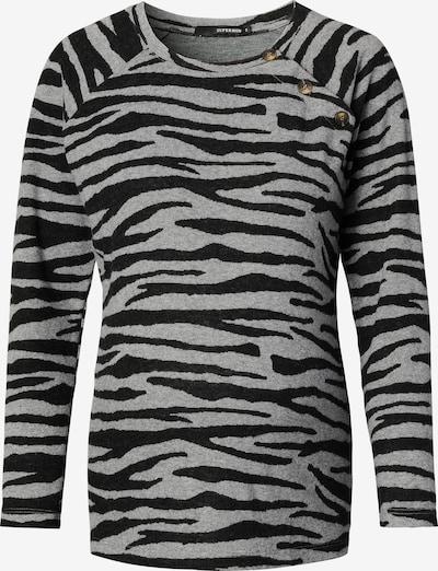 Supermom Shirt ' Nurs Zebra ' in schwarz / weiß, Produktansicht