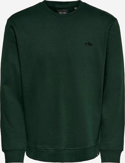 Only & Sons Sweatshirt in de kleur Donkergroen, Productweergave