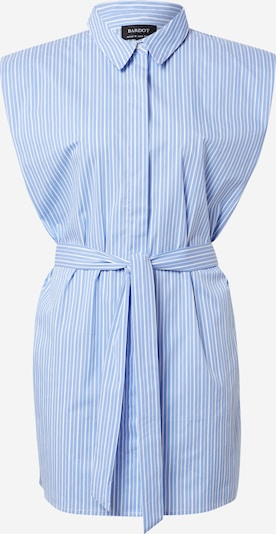 Bardot Kleid in hellblau / weiß, Produktansicht