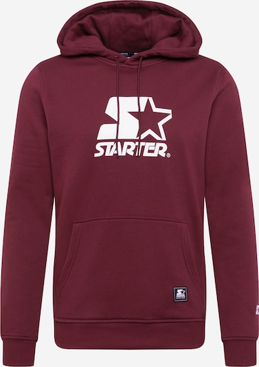 Starter Black Label Sportisks džemperis ķiršsarkans / balts, Preces skats