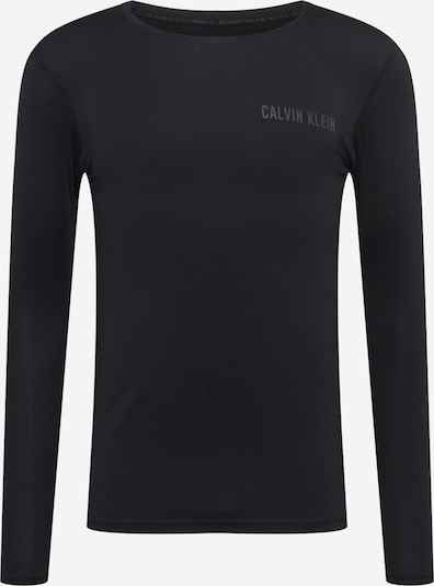 Calvin Klein Performance Functioneel shirt in de kleur Zwart, Productweergave