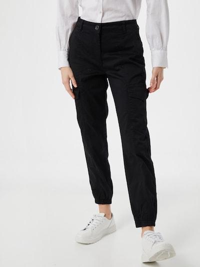 MORE & MORE Klapptaskutega püksid must, Modellivaade