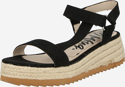 MTNG Sandale 'LYDIA' in schwarz, Produktansicht