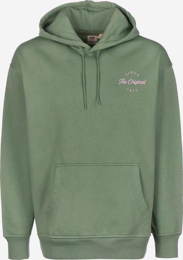 LEVI'S Pullover ' T3 Relaxd Graphic ' in grün, Produktansicht