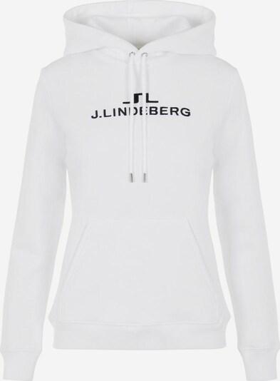 J.Lindeberg Sweat-shirt 'Alpha' en noir / blanc, Vue avec produit