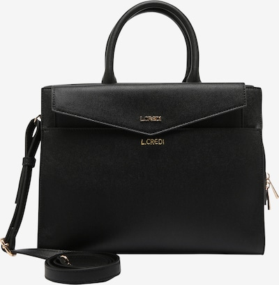 L.CREDI Henkeltasche 'HANNA' in schwarz, Produktansicht