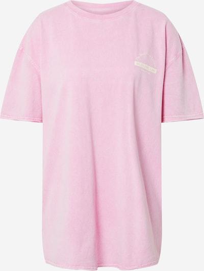 River Island Široka majica u roza / bijela, Pregled proizvoda