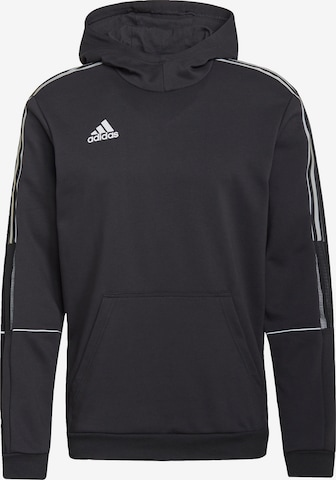 melns ADIDAS PERFORMANCE Sportiska tipa džemperis 'Tiro'