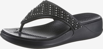 Crocs T-Bar Sandals 'Monterey' in Black