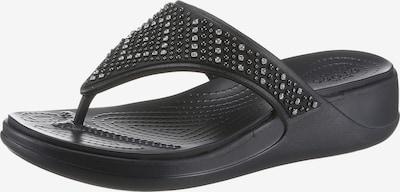 Crocs Iešļūcenes ar pirkstu atdalītāju 'Monterey' melns, Preces skats