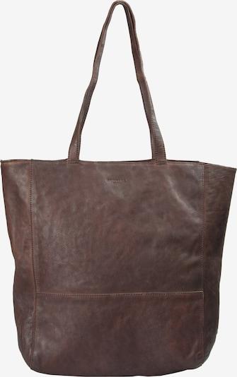 Montana Cabas 'Rosebud' en brun foncé, Vue avec produit