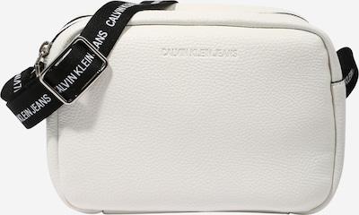 Calvin Klein Jeans Umhängetasche in schwarz / weiß, Produktansicht