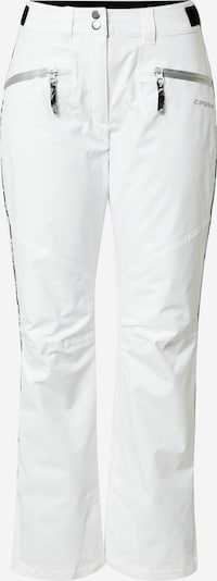 ICEPEAK Sports trousers 'Chase' in Grey / Black / White, Item view