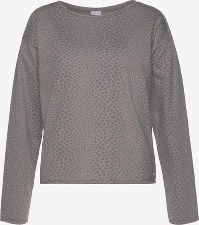 LASCANA Sweatshirt in grau / anthrazit, Produktansicht