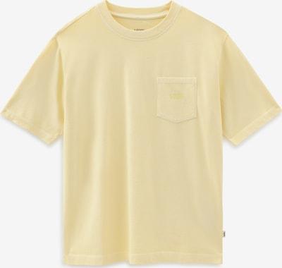 VANS Shirt in hellgelb, Produktansicht
