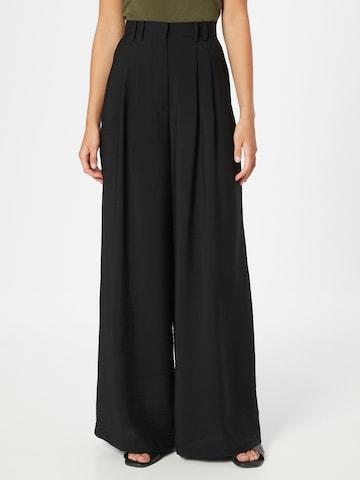 Guido Maria Kretschmer Collection Plissert bukse 'Finja' i svart