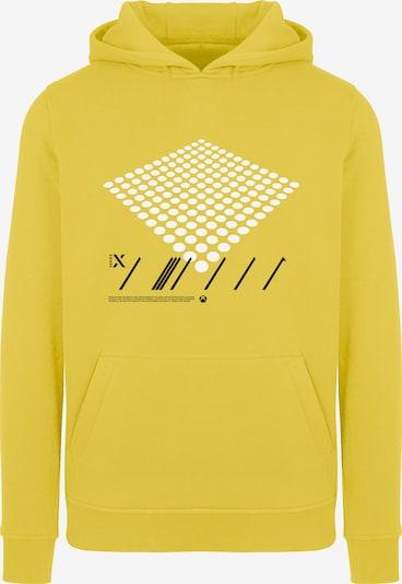 ABOUT YOU x XBOX Sweatshirt 'X Power' in limone / schwarz / weiß, Produktansicht