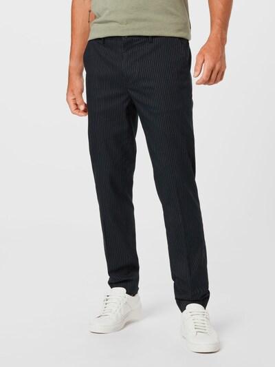 SCOTCH & SODA Hose 'MOTT' in grau / schwarz, Modelansicht