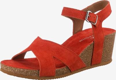 JOLANA & FENENA Sandale in koralle, Produktansicht
