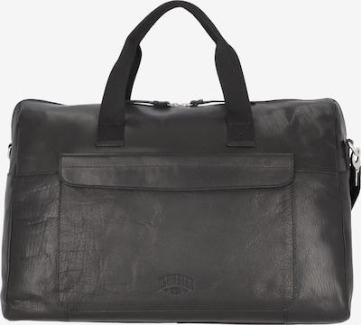 KLONDIKE 1896 Reisetasche 'Wyatt' in schwarz, Produktansicht