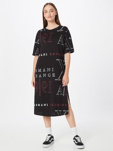 juoda ARMANI EXCHANGE Suknelė