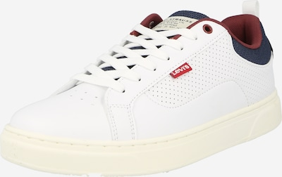 tengerészkék / vérvörös / fehér LEVI'S Rövid szárú edzőcipők 'Caples 2.0', Termék nézet