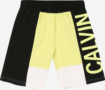 Calvin Klein Jeans Trousers in Yellow