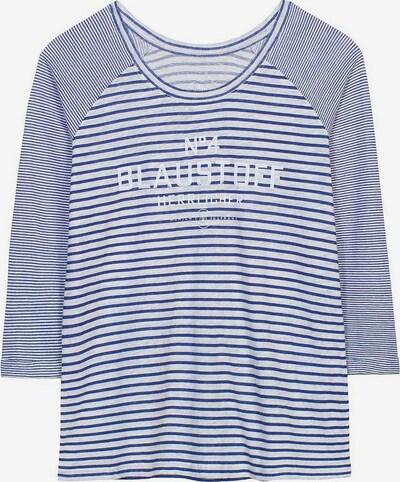 Herrlicher Shirt in dunkelblau / hellgrau, Produktansicht