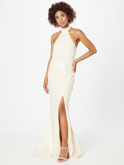 CLUB L LONDON Kleid in naturweiß, Modelansicht
