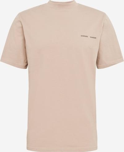 Samsoe Samsoe T-Shirt 'Norsbro' in cappuccino / schwarz, Produktansicht
