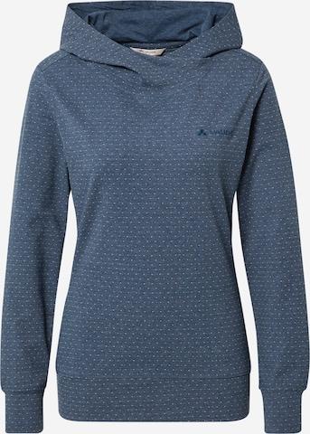 VAUDE Спортен блузон с качулка 'Tuenno' в синьо