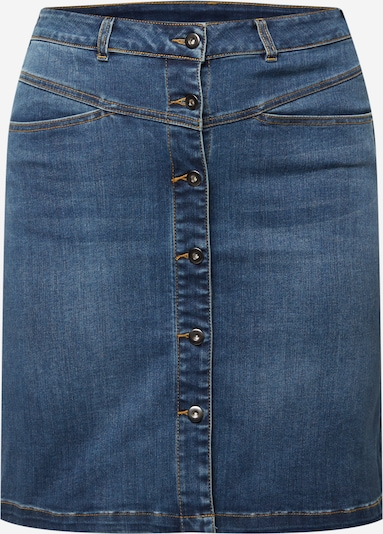 KAFFE CURVE Skirt in Dark blue, Item view