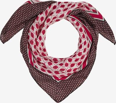 s.Oliver BLACK LABEL Tuch in pink / bordeaux / weiß, Produktansicht