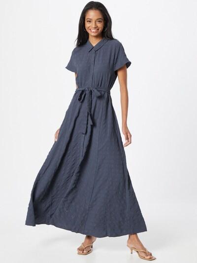 Rochie tip bluză 'Arjana' SOAKED IN LUXURY pe albastru porumbel, Vizualizare model
