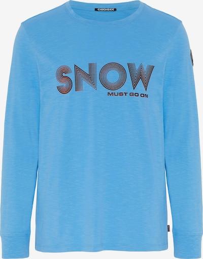 CHIEMSEE Functioneel shirt 'ORTLER' in de kleur Blauw, Productweergave
